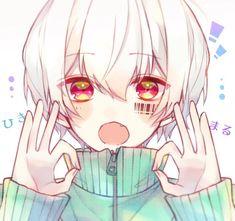 Cute Anime Pics, Cute Anime Boy, Anime People, Anime Guys, Anime Style, Vocaloid, Neko Boy, Yuno Gasai, Kawaii Drawings