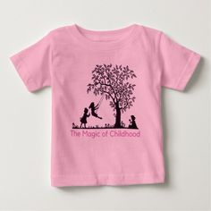 Shop The Magic of Childhood Baby T-Shirt created by The_Blessing_Store. Baby Needs, Consumer Products, Basic Colors, Suits You, Look Cool, Baby Gear, Cotton Tee, Childhood