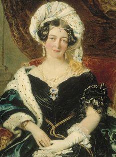 HRH Princess Victoria, Duchess of Kent brooch.