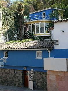la chascona, house of Pablo Neruda, Bella Vista barrio, Santiago, Chile Pablo Neruda, The Wonderful Country, Literary Travel, Chili, Cool Places To Visit, South America, Places Ive Been, The Good Place, Architecture