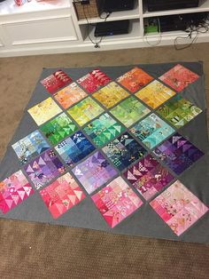 Tracy's Bits N Pieces: Rainbow Scrap Challenge 2016 geese migration I finished my last RSC quilt top on the very last day of the year. Nothing like a self-imposed deadline to get you motivated! At the begi. This site has other neat scrap buster blocks. Scrap Quilt Patterns, Patchwork Quilting, Scrappy Quilts, Mini Quilts, Crazy Quilting, Crazy Patchwork, Embroidery Patterns, Canvas Patterns, Embroidery Stitches