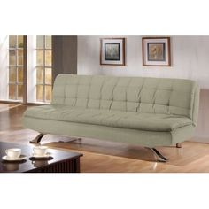 LifeStyle Solutions Medina Olive Casual Convertible Sofa $648 (with assembly)