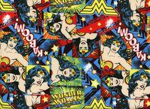 Wonder Woman Girl Power Quilting Cotton
