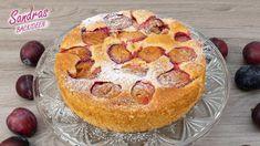 Pflaumenkuchen mit Schmand - Rezept von Sandras Backideen Muffin, Breakfast, Desserts, Food, Amanda, Youtube, Pies, Cake Land, Tray Bakes