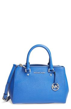 Free shipping and returns on MICHAEL Michael Kors 'Small Sutton' Saffiano Leather Satchel at Nordstrom.com. A clean, compact satchel cast in lush Saffiano leather features gleaming logo hardware and an optional strap for effortless, on-the-go sophistication.