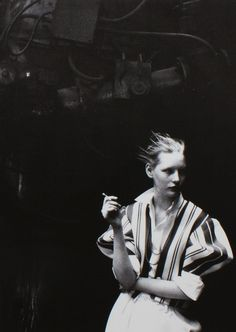 Kirsten Owen shot by Peter lindbergh for Comme des Garcons Six magazine no.2