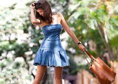 Платье из джинсового сарафана (Diy) / Платья Diy / Своими руками - выкройки, переделка одежды, декор интерьера своими руками - от ВТОРАЯ УЛИЦА