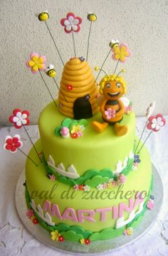 Ape Maia Bee Cakes, Queen Bees, Birthday Cake, Sweets, Desserts, Anna, Coffee, Cakes, Bees