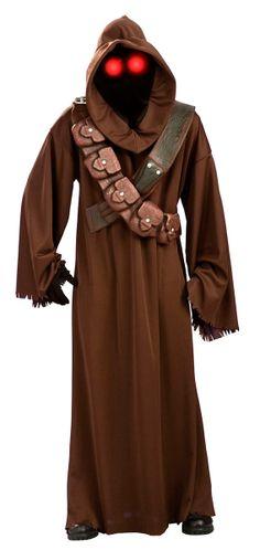 Disfraz de Jawa. Star Wars Disfraz para ir como los nativos del planeta Tatooine, esos personajes ficticios, dentro del universo Star Wars.