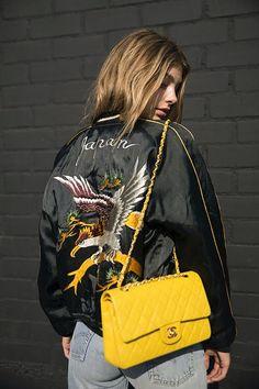 cool Женская куртка бомбер (50 фото) — С чем носить? Стильные идеи