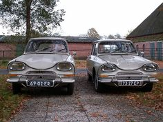 citroen Ami6 - could be a before/after pic :-)