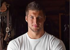 Tim Tebow...Christian, beautiful inside and out, minister, and talented football player. What better role model can we ask for?