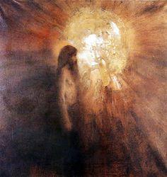 Fernand Khnopff, La tentation de saint-Antoine