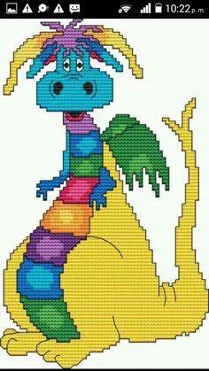 Dinosaurio colorido