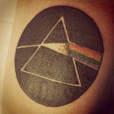 Dark Side of the Moon. Pink Floyd on Padre. #tattoo #tattoos #tattooed #tattooart #tattooartist #pinkfloyd #darksideofthemoon #padre