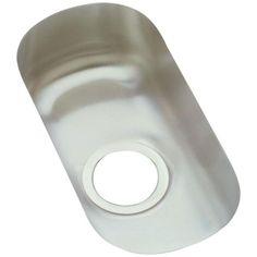 Elkay Harmony Undermount Stainless Steel (Silver) Lustertone Kitchen Sink (Lustertone)
