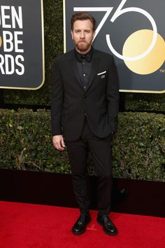 Ewan McGregor Photos - Ewan McGregor attends The 75th Annual Golden Globe Awards at The Beverly Hilton Hotel on January 7, 2018 in Beverly Hills, California. - 75th Annual Golden Globe Awards - Arrivals