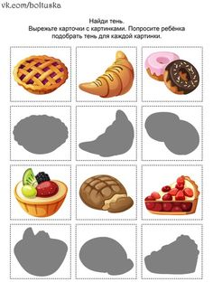 cheznounoucricri - Page 105 Cognitive Activities, Toddler Activities, Colors For Toddlers, Restaurant Themes, Bakery Kitchen, File Folder Activities, Easy Coloring Pages, Preschool Crafts, Pain