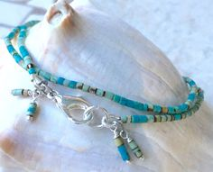 Beaded Choker Necklace, Gemstone Choker Necklace, Bohemian Choker Necklace, Blue Choker Necklace, In Style Choker Necklace, Boho Jewelry by Ancientvibrationshop on Etsy