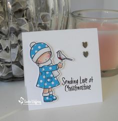 Made by Sandra: Sending Love at Christmastime
