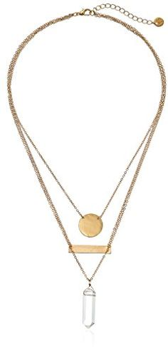 Layer necklaces for a fun & stylish look.