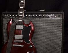 Image for Fender Vibrolux Reverb With Gibson SG
