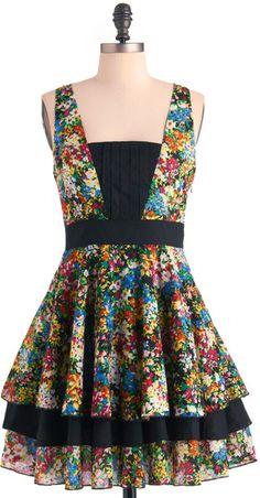 MODCLOTH    Best Palettes Dress