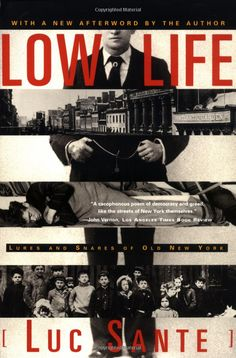 Luc Sante's 'Low Life' - Really opens up the city for you in a new way. New York will never look the same.