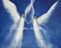Guardian Angels hover above us. To guide or footsteps and to love us                         ^i^  ❤  ^i^