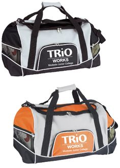 Tri-pocket Duffel Bag – Modesto Junior College, #TRIOWorks