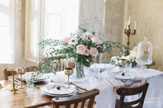 pink wedding decor http://trendybride.net/beautiful-blush-hues-wedding-inspiration/
