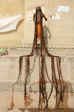 World's longest dreadlocks