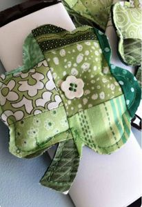 Save up fabric scraps and try making this.