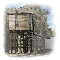 wooden water towers