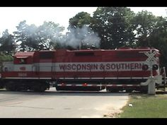 ▶ High Iron Throwback #5: WSOR 3806 Leads a Short Reedsburg Sub Local 6/17/2007 - YouTube