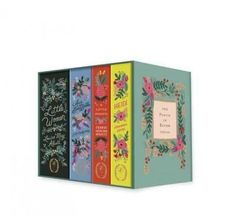 The Puffin in Bloom Collection: A Little Princess / Anne of Green Gables / Heidi / Little Women (Hardcover)