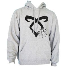 The Mortal Instrument Unisex Hoodie S to 3XL ($33) ❤ liked on Polyvore featuring tops, hoodies, grey hooded sweatshirt, unisex hoodies, gray hoodies, gray hoodie and sport tops