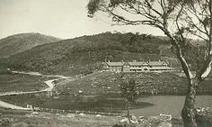 The Hotel Kosciusko on Kosciusko Rd,Diggers Creek,in south-east New South Wales,   showing the road to the hotel.