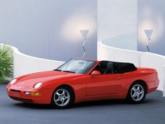 1994 Porsche 968 Cabrio: Nudged between the famous 928 and the affordable the 968 is a rare find: a front engine, balanced Porsche that had an available cabrio, turbo or option. Porsche 968, Porsche Cars, Ferdinand Porsche, Vintage Porsche, Vintage Cars, Lamborghini Aventador, Old Cars, Super Cars, Classic Cars