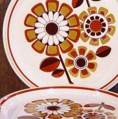 Vintage Mikasa Light And Lively Dinner Plates Grenadier Pattern