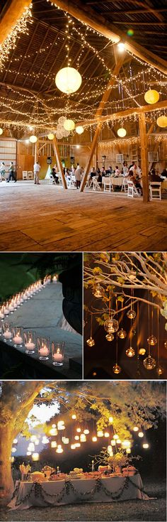 Lighting inspiration.  Stage right will be doing café lights overhead and lanterns around the perimeter.