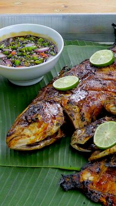 Food N, Good Food, Food And Drink, Fish Recipes, Asian Recipes, Ethnic Recipes, Fruit Cookie Recipe, Cheeseburger Recipe, Indonesian Cuisine