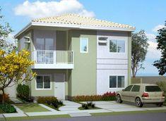 Visualize abaixo varias imagens de Fachadas de Casas Pequenas :