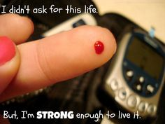 Learning How To Cope With Diabetes In Your Life. Diabetes is a serious condition on its own, and can give rise to numerous secondary conditions and complications, even death. Diabetes Quotes, Type One Diabetes, Diabetes Month, Diabetic Tips, Diabetes Awareness, The Cure, Learning, Staying Strong, Diabetic Living