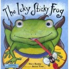 Story good for sequencing/ recall. What did the frog eat first? Other expansion ideas for wh- questions, speech sounds, sentence expansions, etc