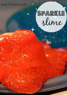 whether it's a snow-day sanity saver or a cool way to pass a rainy indoor afternoon, sparkle slime ROCKS. kids love it, and it's super-easy to make!