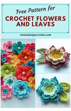 Crochet Sheep, Picot Crochet, Crochet Leaves, Crochet Motif, Crochet Stitches, Crochet Brooch, Crochet Appliques, Crochet Stars, Crochet Animals