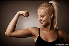 Summer Arms Challenge--there is no better time to get beautifully toned and defined arms!  #summerarms #challenge