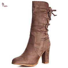 Chaussures Topschuhe24 marron femme Mk2W4