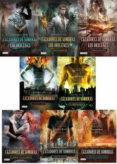 Cazadores De Sombras (5 Libros) + Los Origenes (3 Libros) - $ 10.000 en MercadoLibre